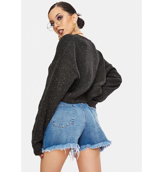 Articles of Society Kona Meredith Distressed Denim Shorts