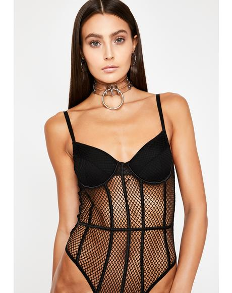 Loving Crime Fishnet Bodysuit
