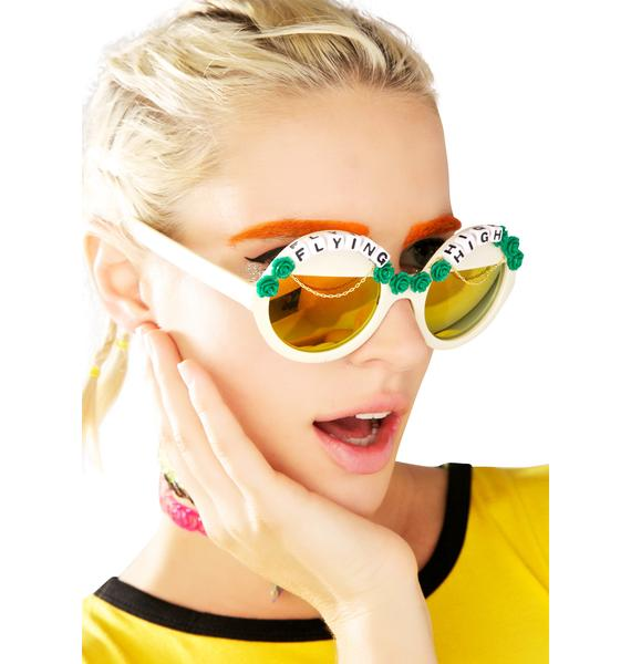 Rad and Refined Flying High Sunglasses