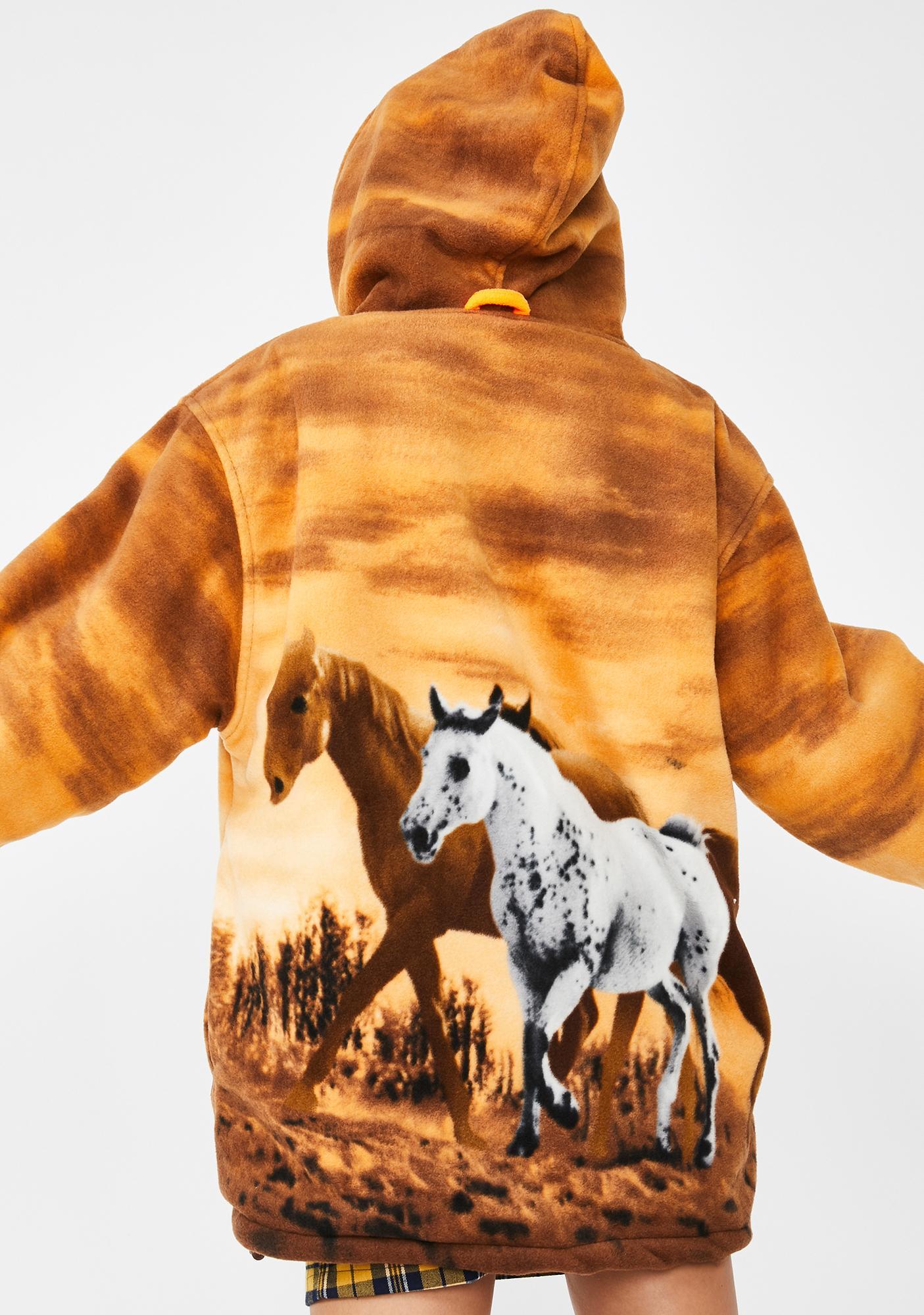 Wildkind Horse Girl Sherpa Hoodie