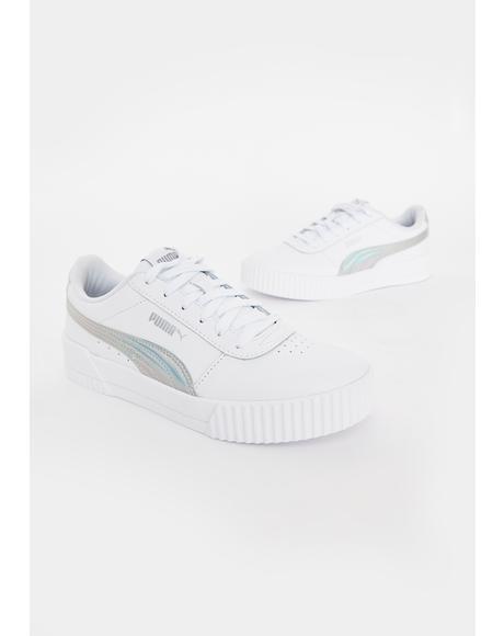 Iridescent Carina Classic Sneakers