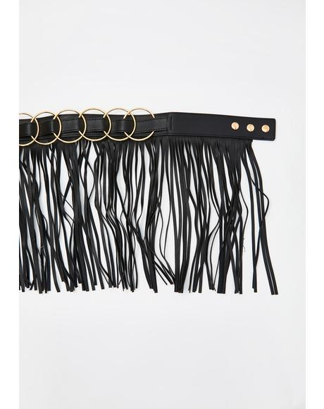 Backroads Belle Fringe Belt