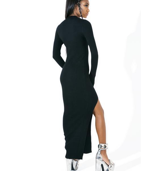 Illusory Maxi Dress