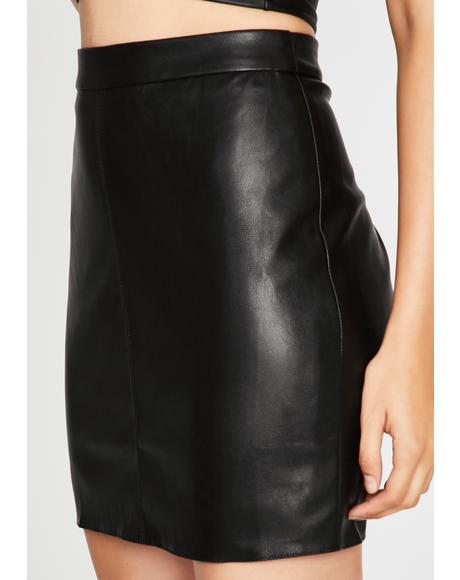 Thrill Of The Chase Mini Skirt