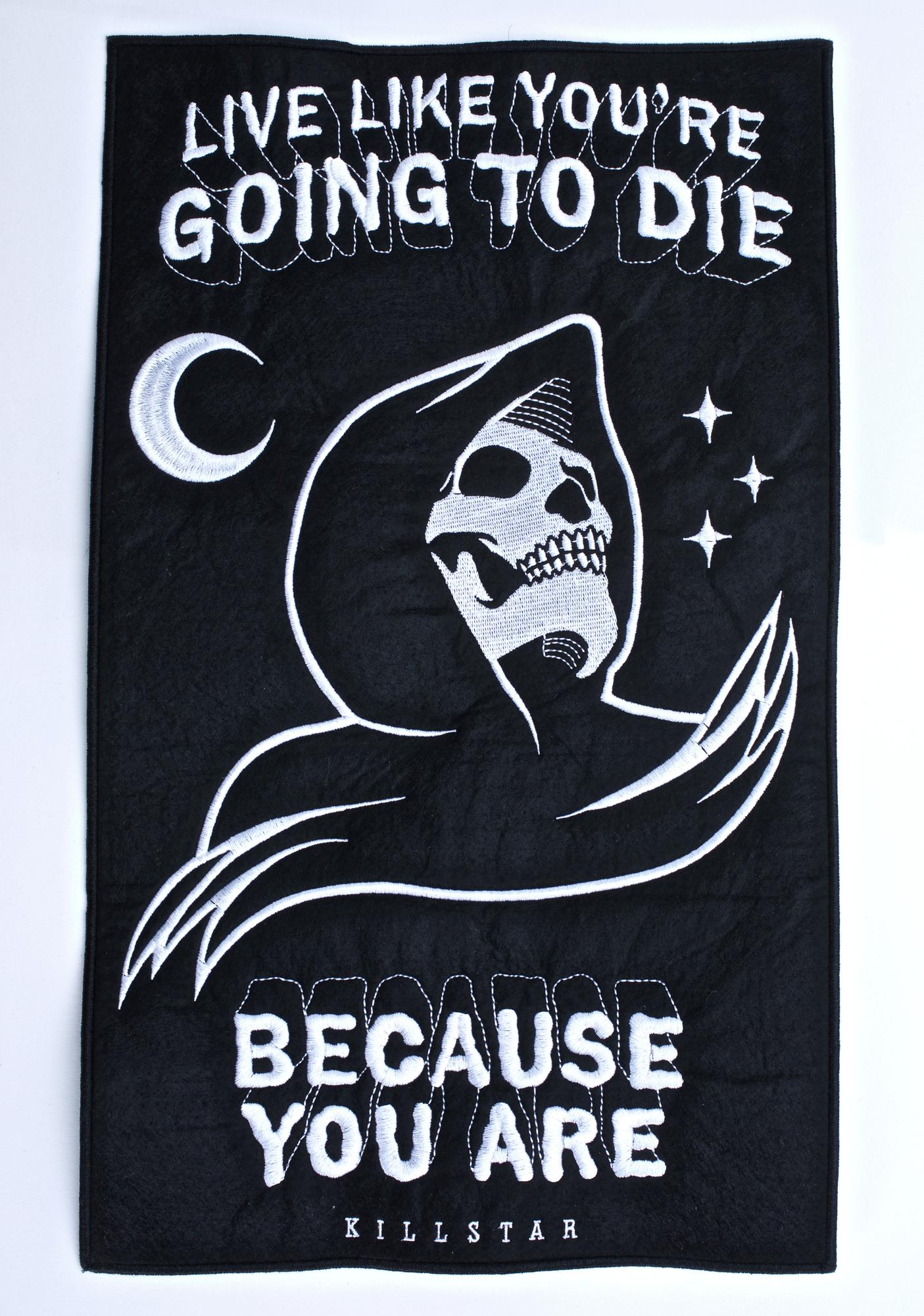 Killstar Certain Death Backpatch
