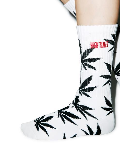 HUF HUF x High Times Crew Sock