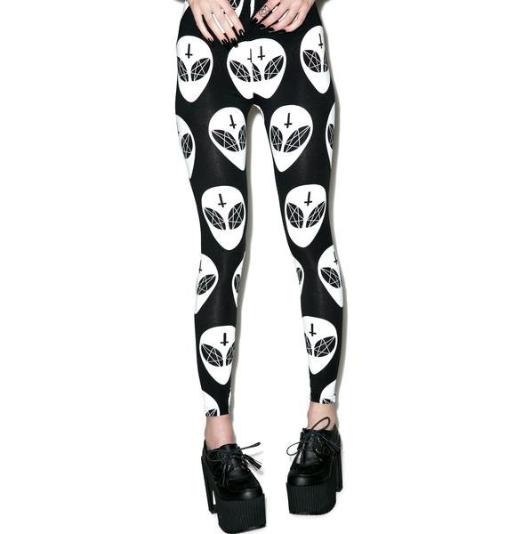 Killstar Earthlings Leggings