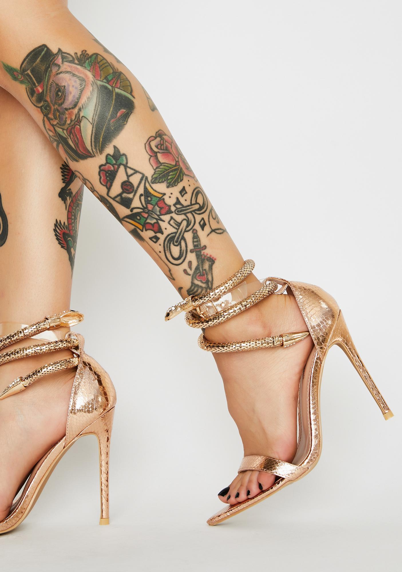 Slither In Ur DMs High Heels