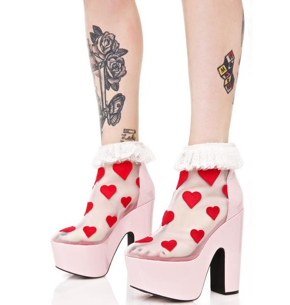 Sugar Thrillz Lucy Wedge Heels