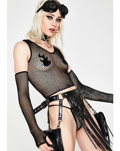 Up All Night Fishnet Set
