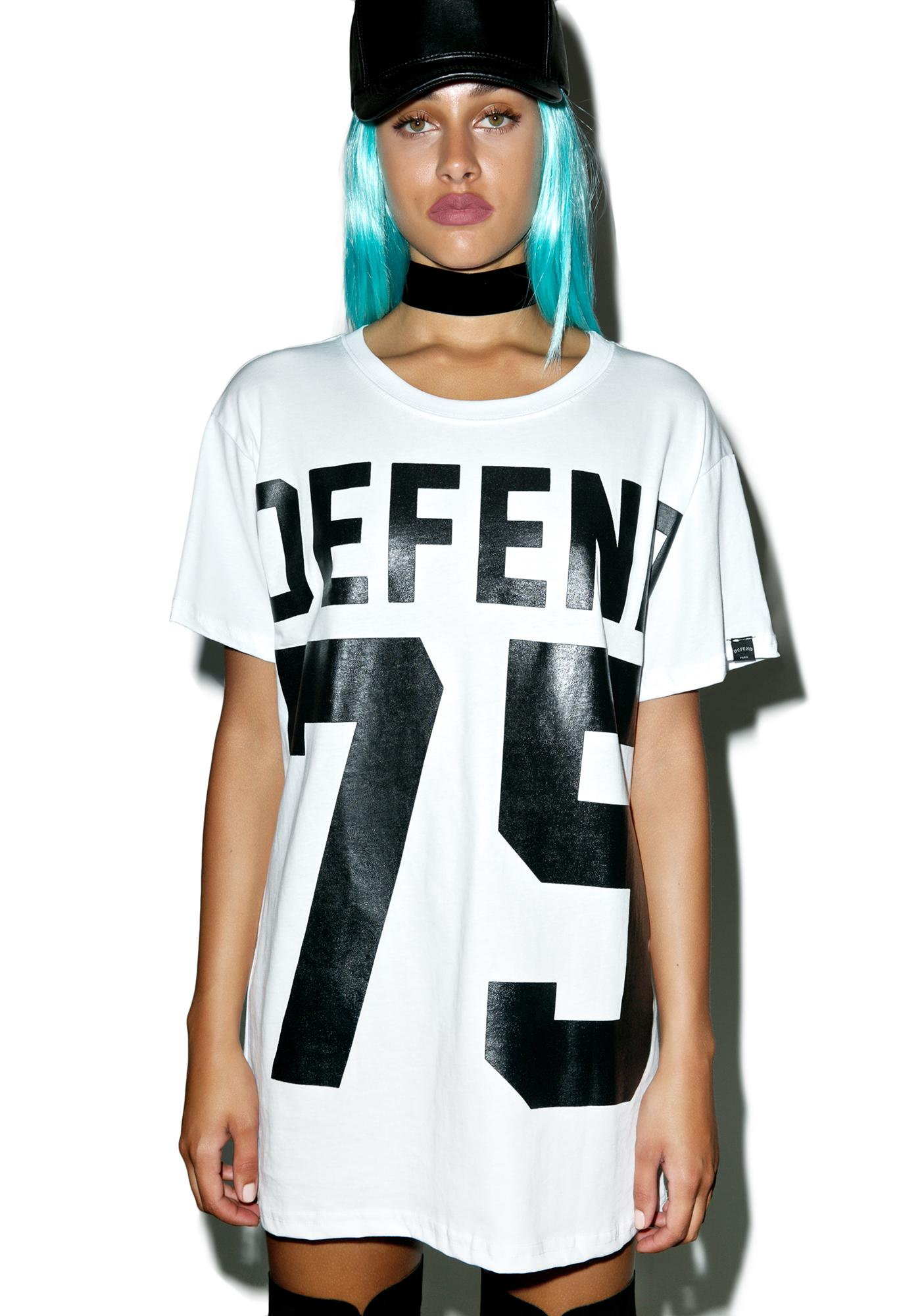 Defend Paris Defend 75 T-Shirt