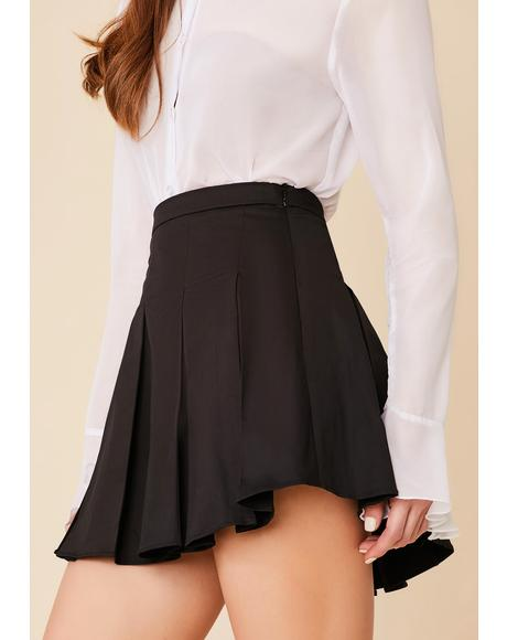Dean's List Pleated Mini Skirt