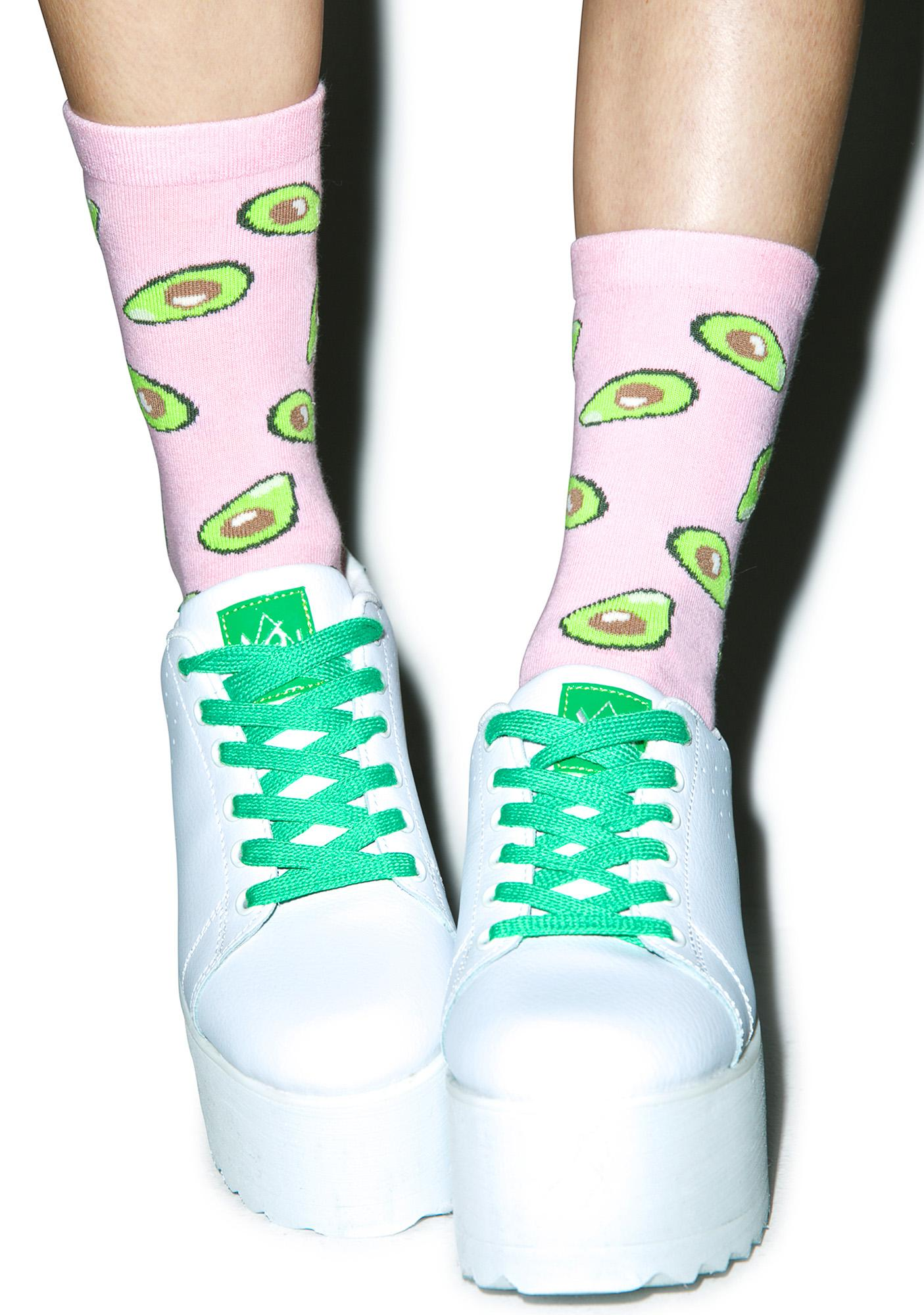 Local Heroes Avocado Socks