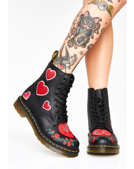 1460 Pascal Heart Boots