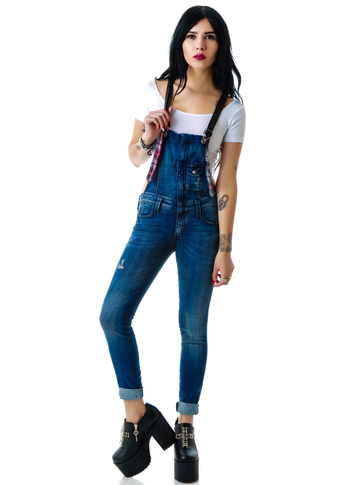 Frankie B Hipster Overall