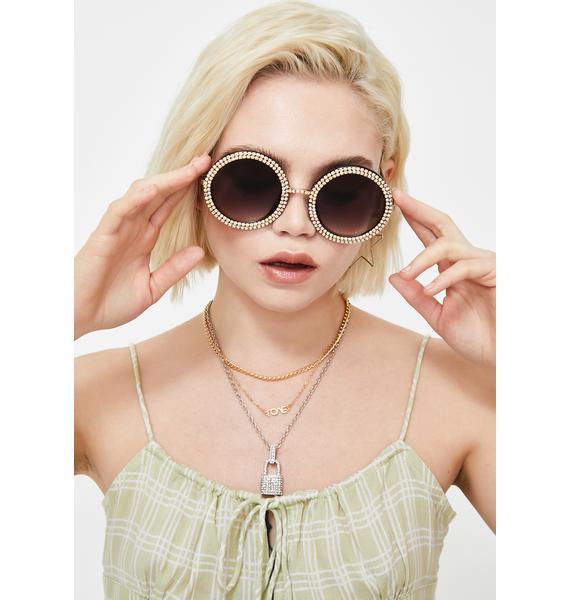 Seeing Daydreams Circle Sunglasses