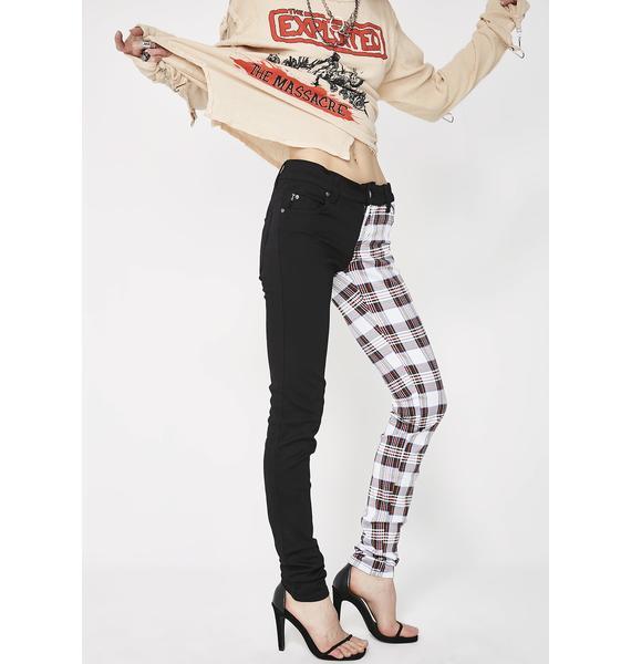 Tripp NYC Split Personality Jeans