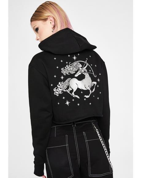 Sagittarius Magick Embroidered Hoodie