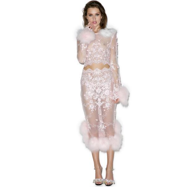 Dyspnea Pink Bubblegum Skirt