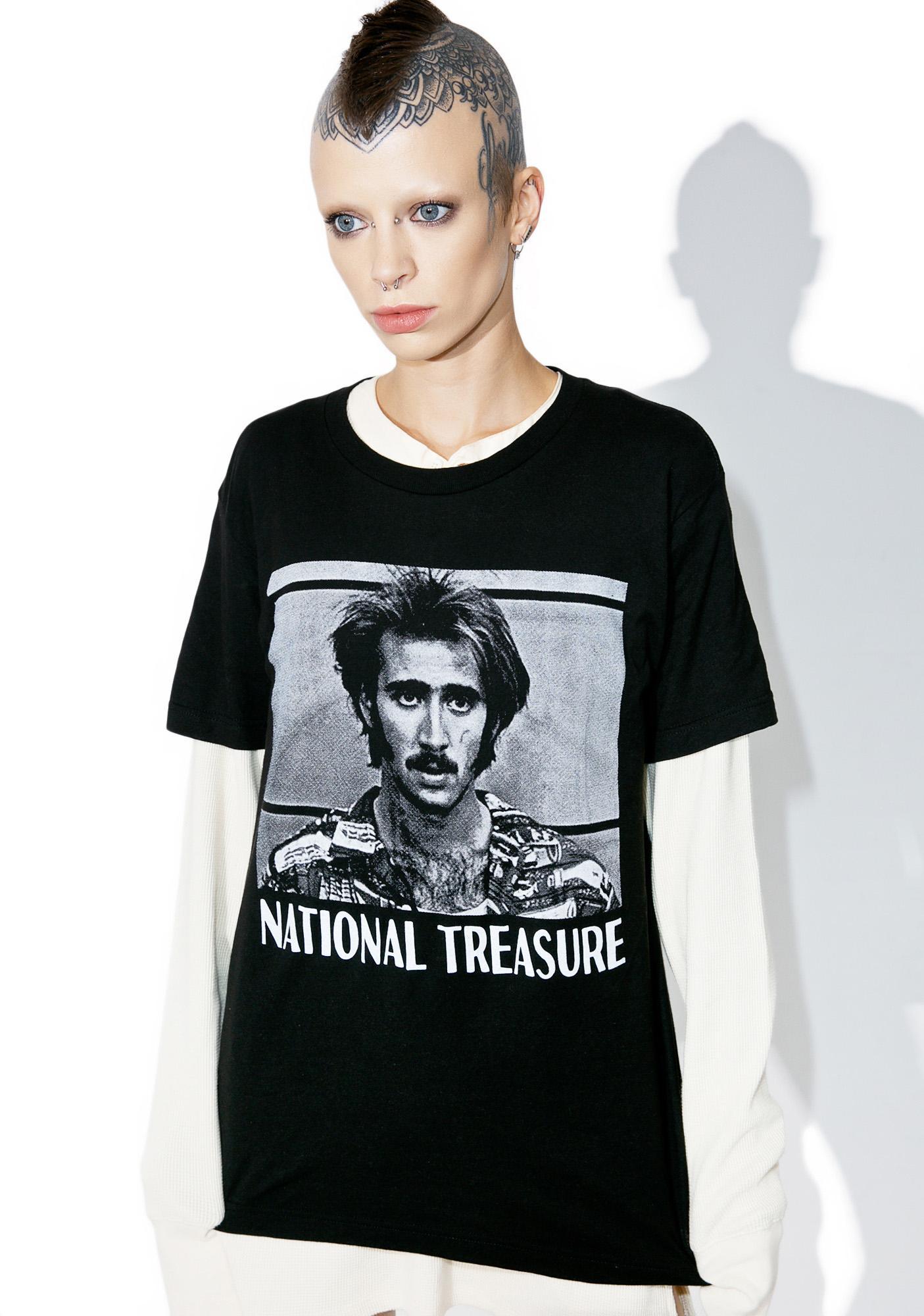 Burger And Friends National Treasure Tee