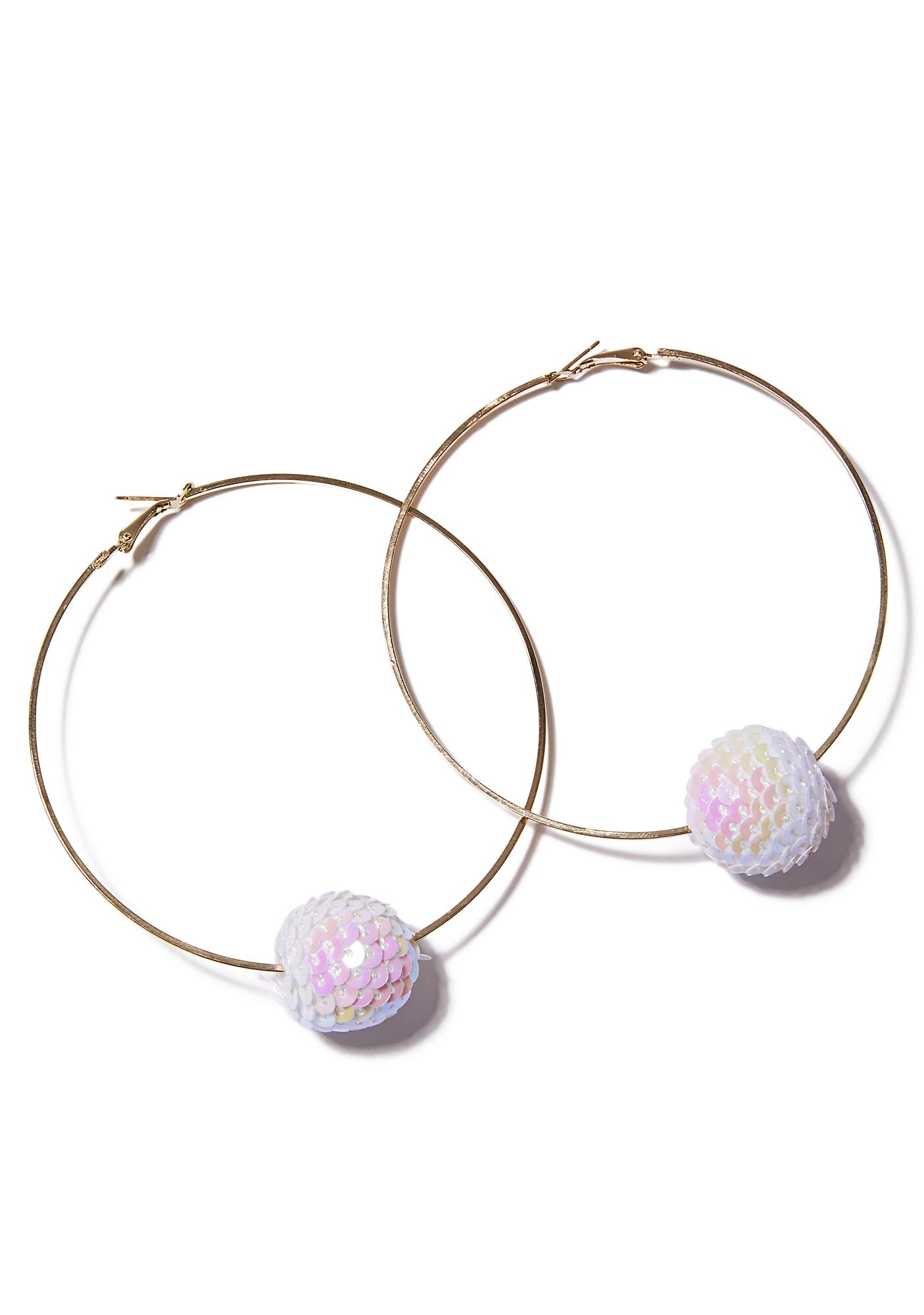 Jawbreaker Hoop Earrings