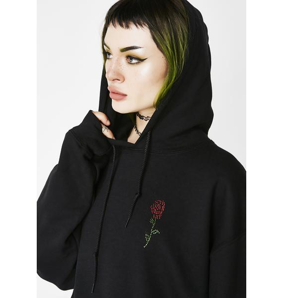 Petals and Peacocks No Memory Hoodie