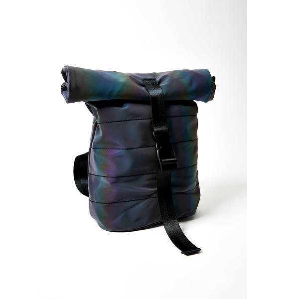 Club Exx Rave Roll Up Mini Backpack