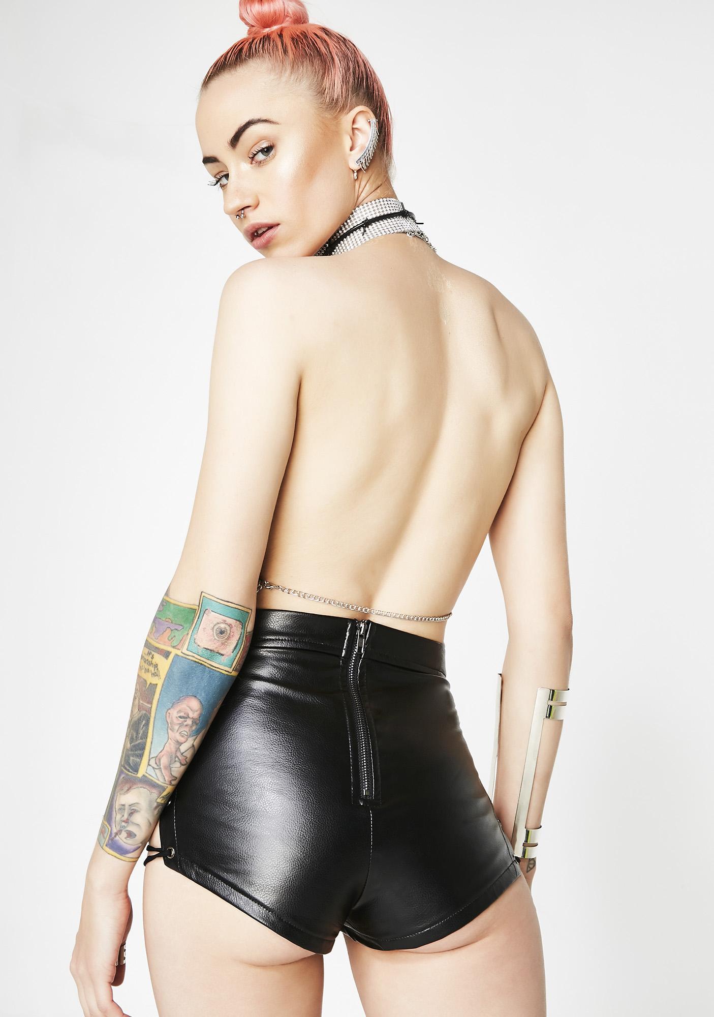 If Ya Nasty Lace-Up Shorts