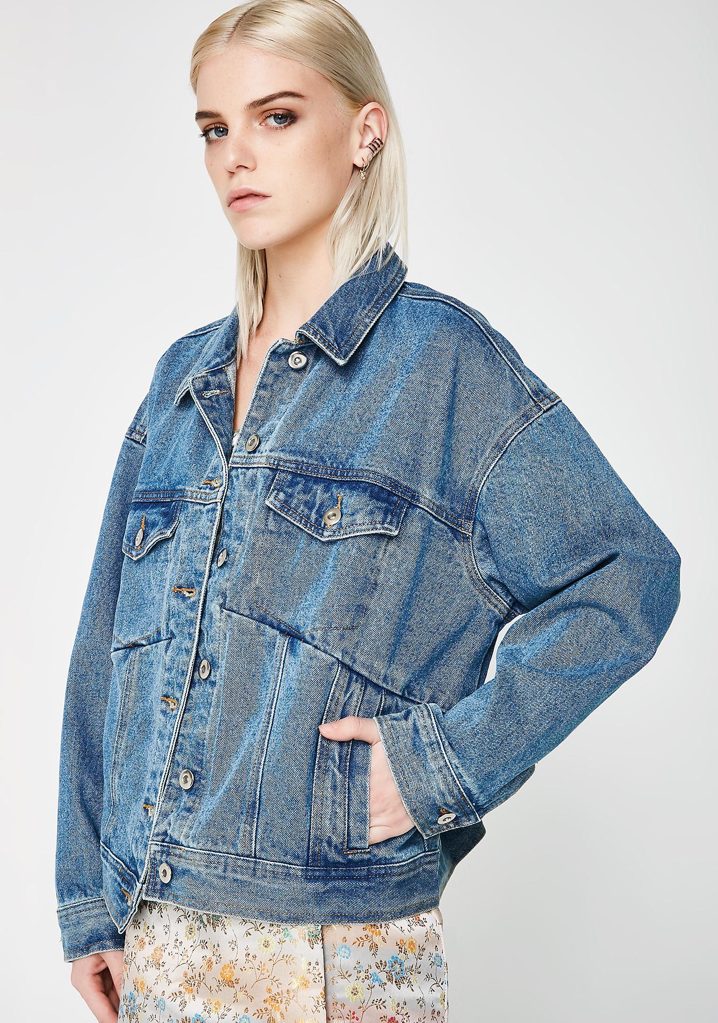 Stop Thinking Denim Jacket