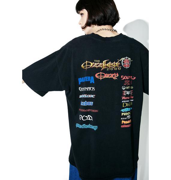 Vintage Ozzfest '00 Tour Tee