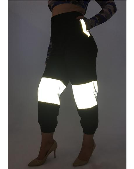 See Me Shining Reflective Pants