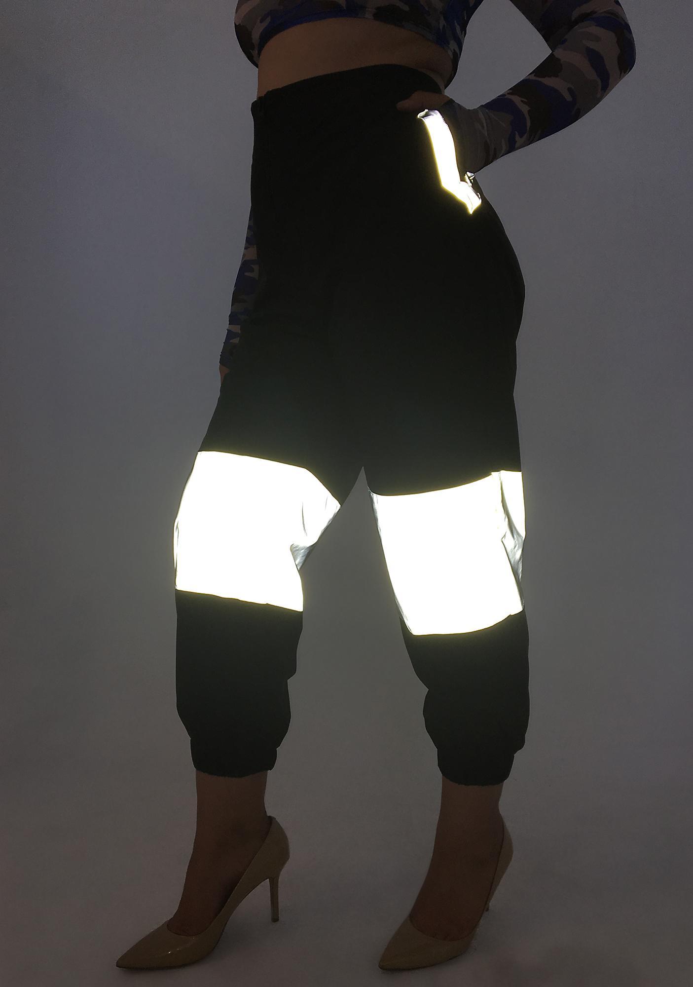 406e8ef7449 Poster Grl See Me Shining Reflective Pants