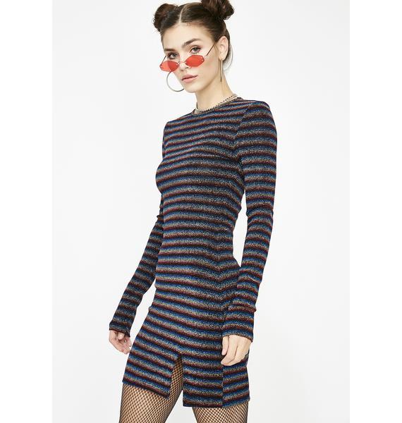 Sparkle Lover Mini Dress