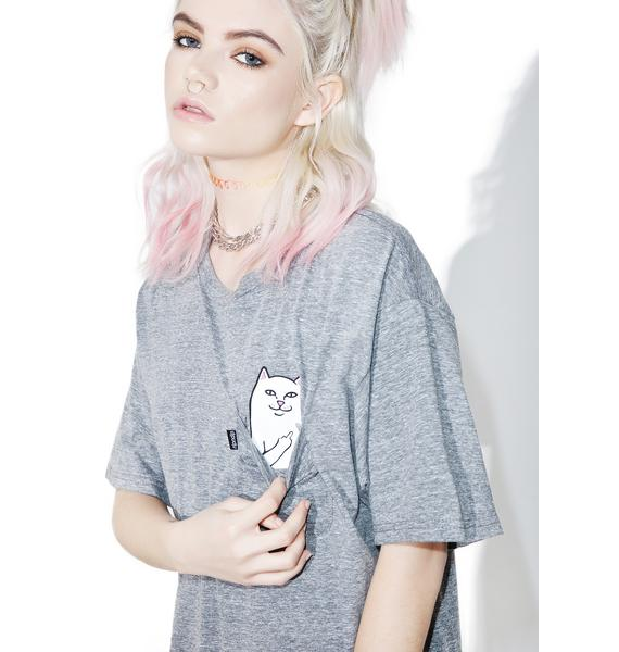 RIPNDIP Heather Lord Nermal Pocket Tee