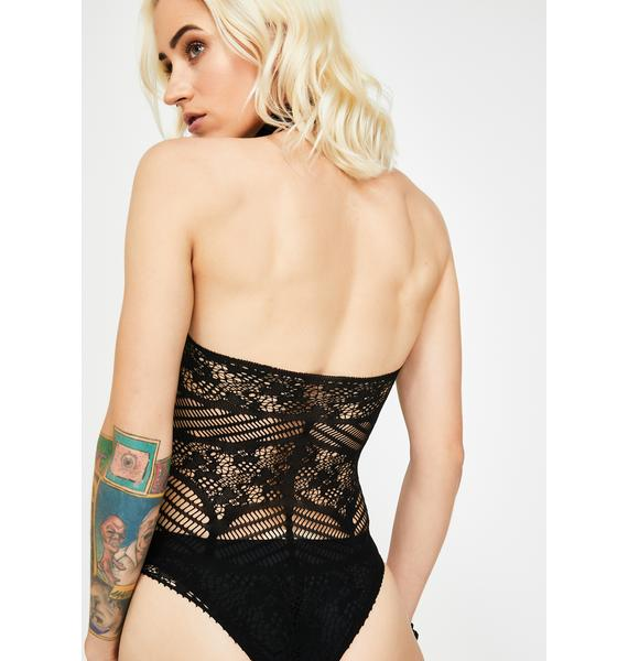 Seduced By You Lace Teddy