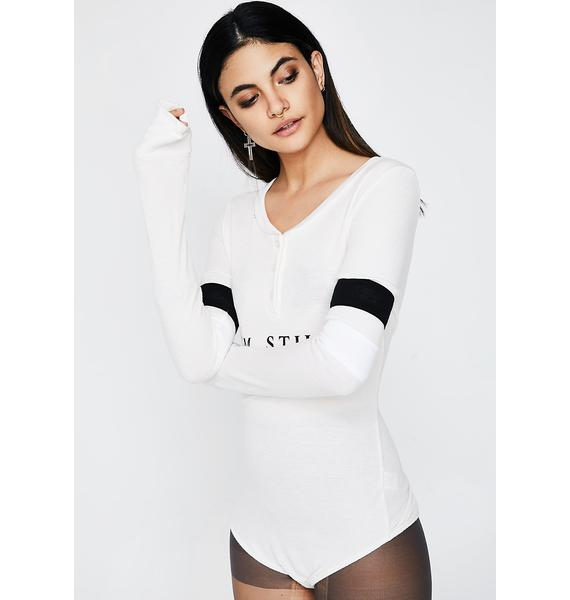 Wildfox Couture I'm Still Weekending Bodysuit