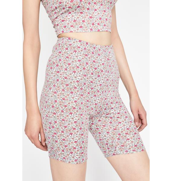 Blooming Eve Biker Shorts