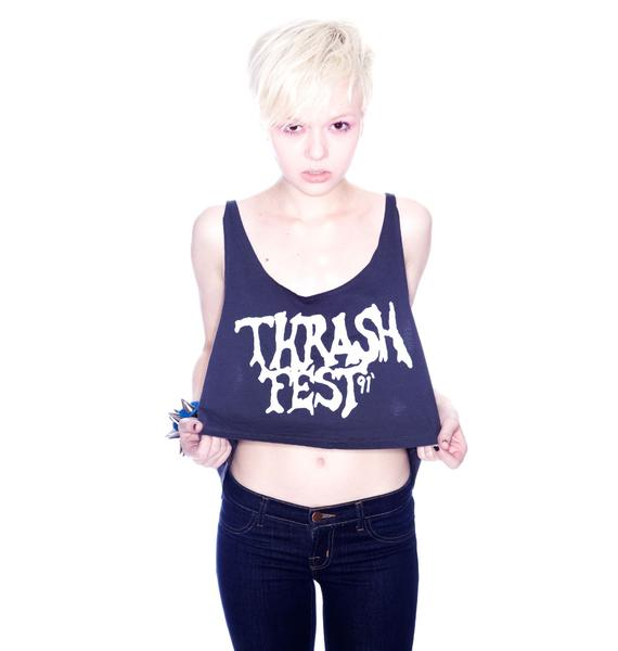 Bandit Brand Thrash Fest Crop Tank