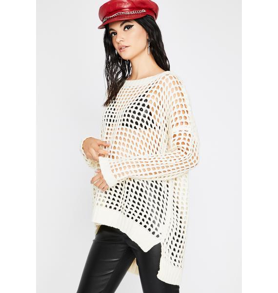 Chill Rainy Dayz Knit Sweater