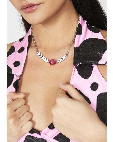Hit The Jackpot Chain Necklace