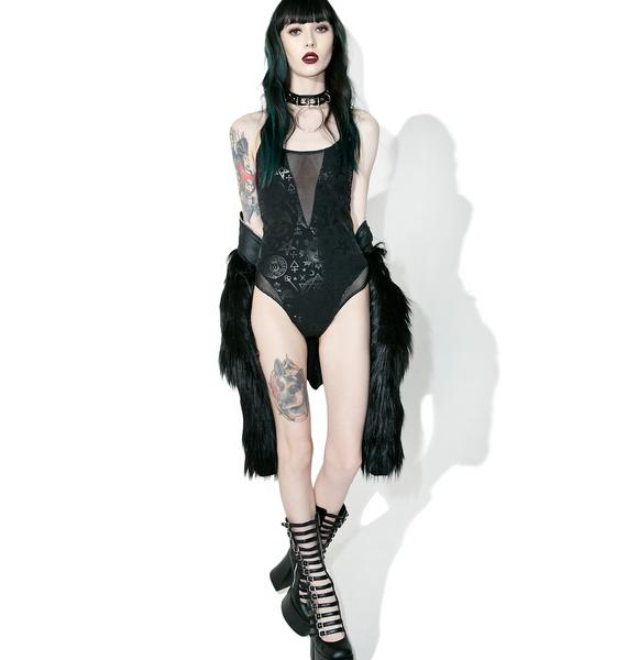 Killstar Morgana Workaholic Bodysuit