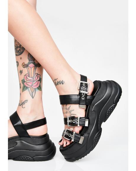I'm The One Platform Sandals