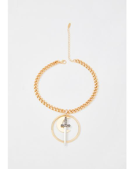 Noble Spirit Chain Necklace
