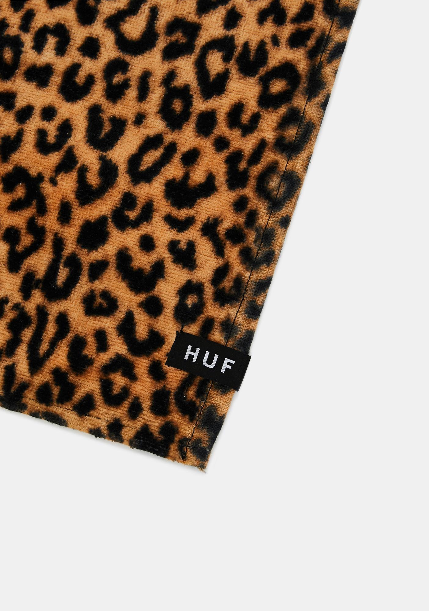 HUF Leopard Print Beach Towel