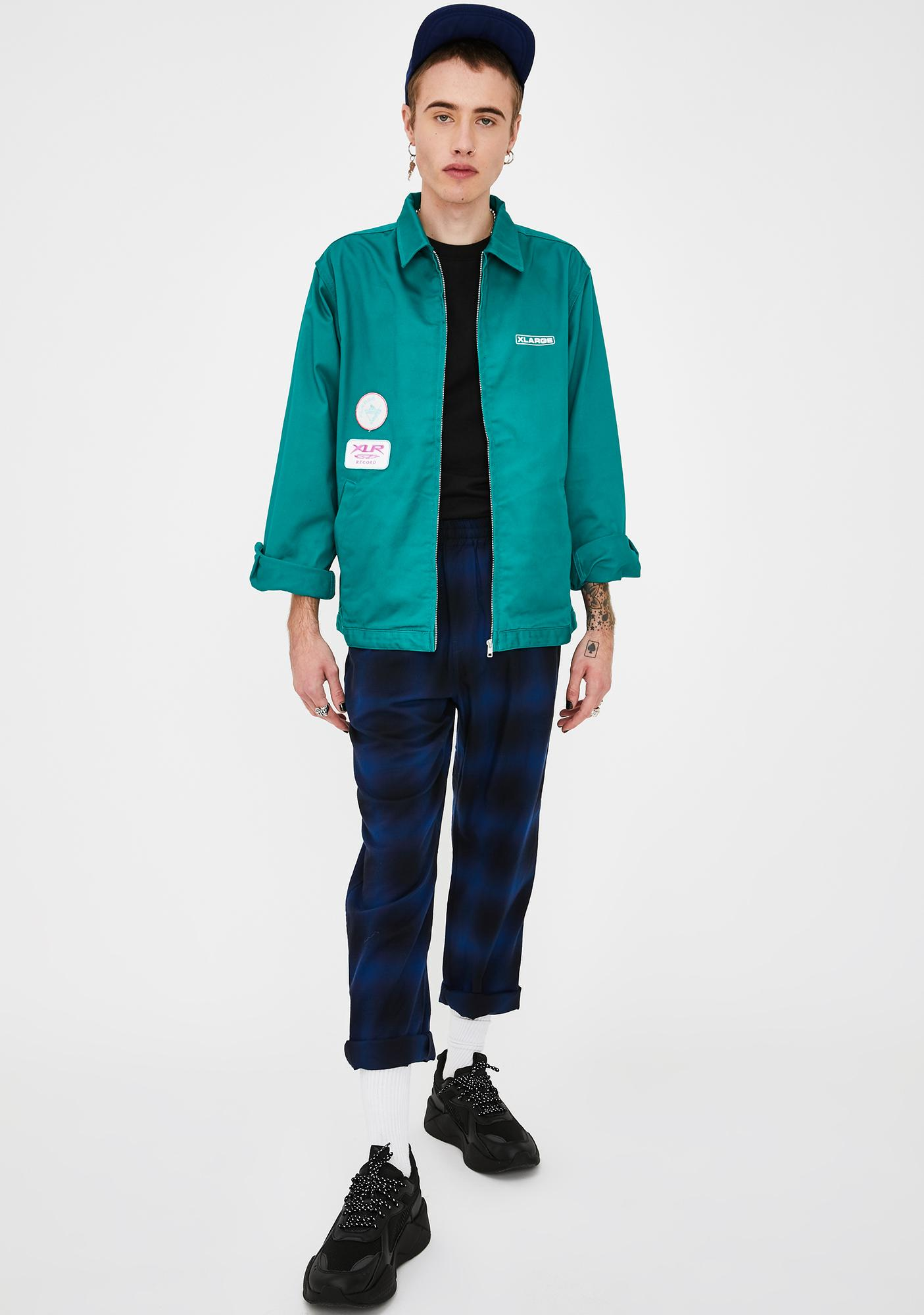 XLARGE Patched Green Work Jacket