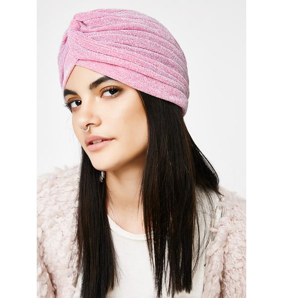 Blush Save That Thought Turban
