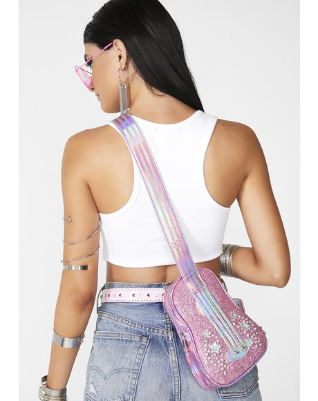 Cosmic Heart Strings Ukulele Bag
