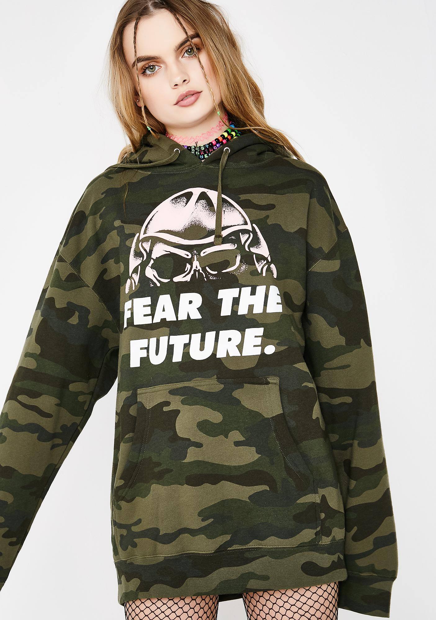 9c897da5 Fear The Future Pullover