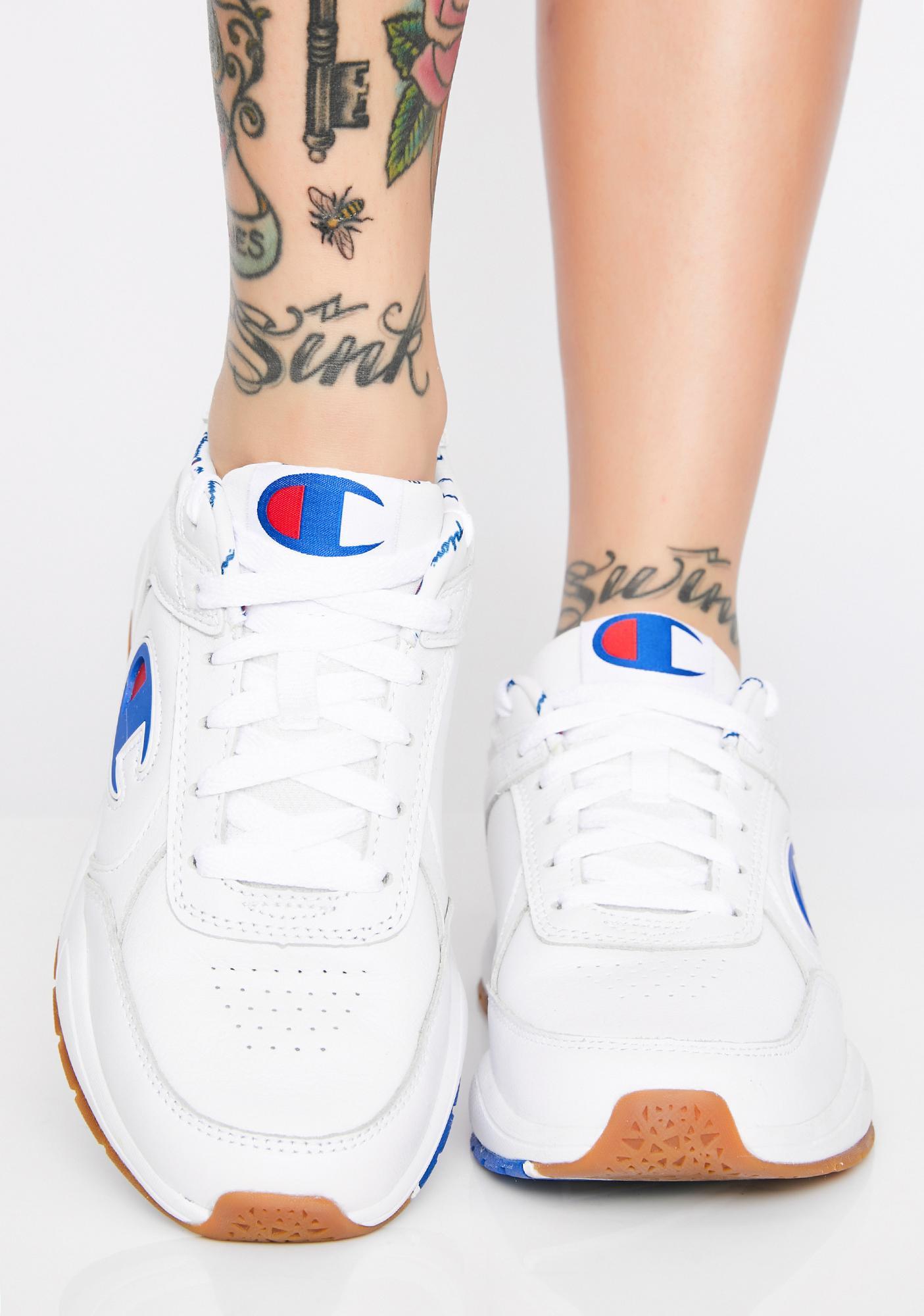 Champion Icy 93Eighteen Suede Logo Sneakers