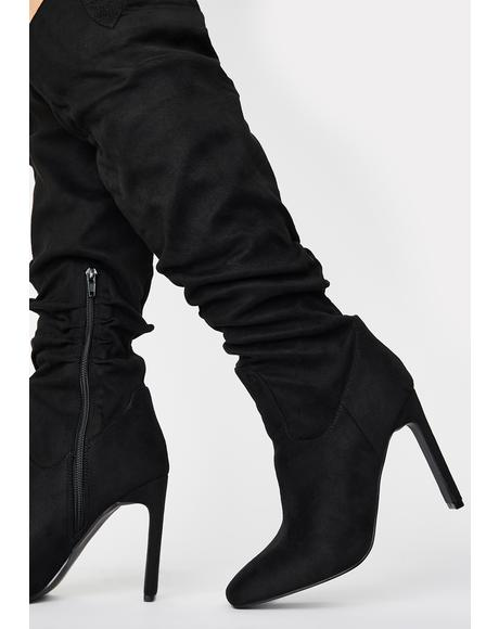 Peak Knee High Boots